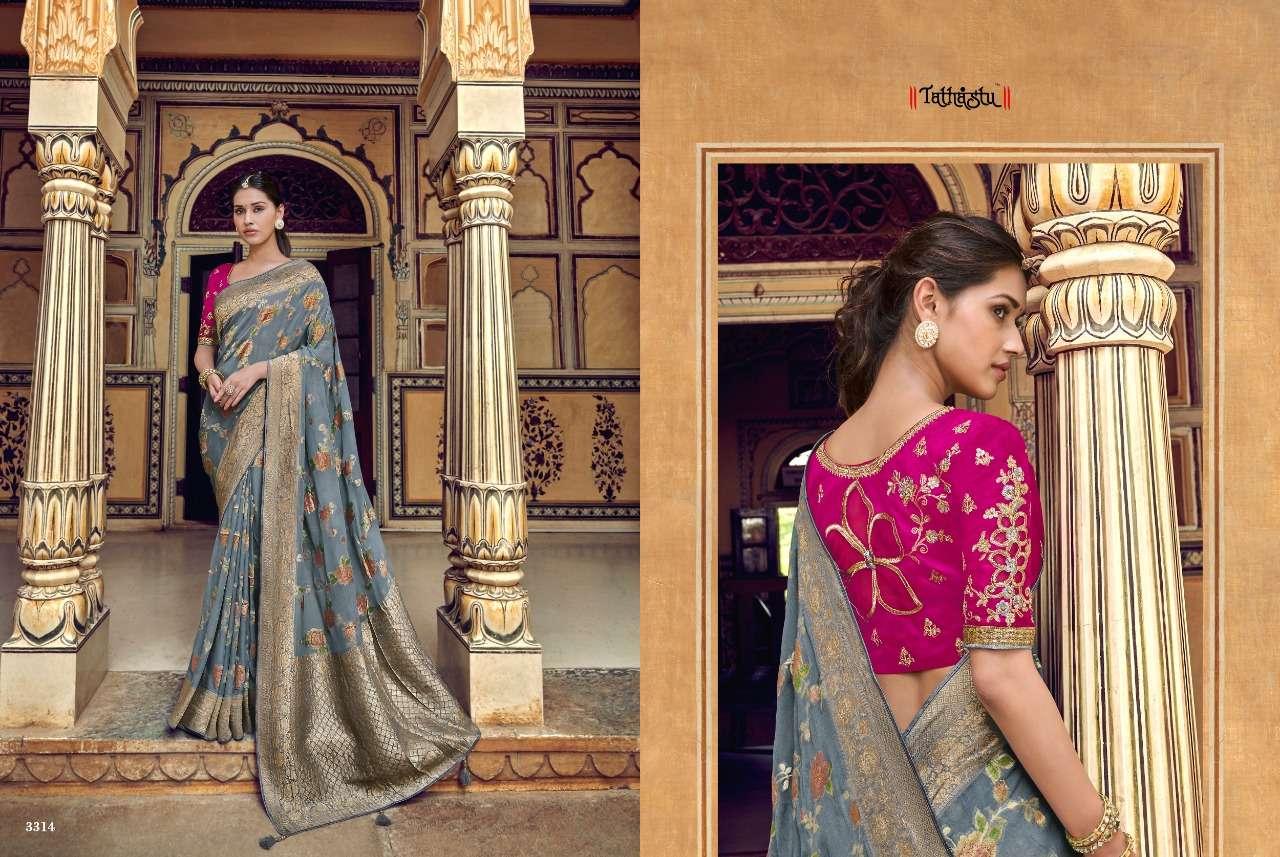 TATHASTU 3300 SERIES designer saree collection 08