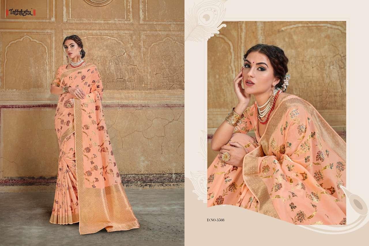 Tathastu 3500 Series Heavy Designer Silk Traditional Wedding Sarees Collection 08