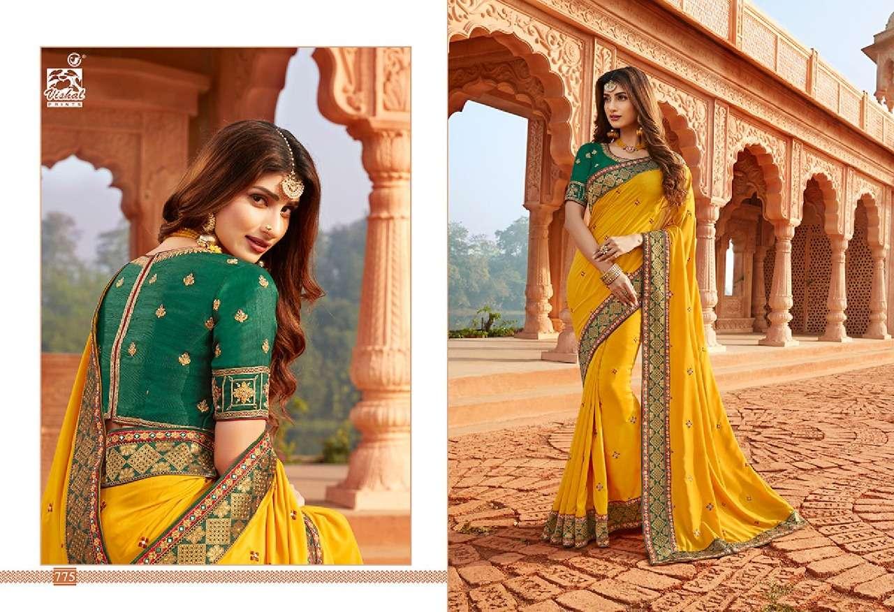 VISHAL GRANDOISE VOL - 3 designer saree collection 02