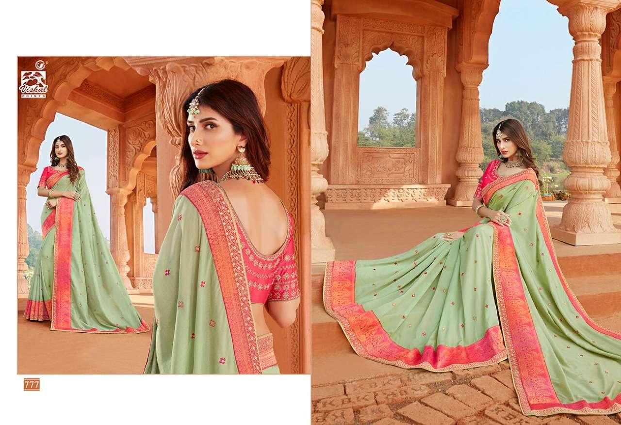 VISHAL GRANDOISE VOL - 3 designer saree collection 04