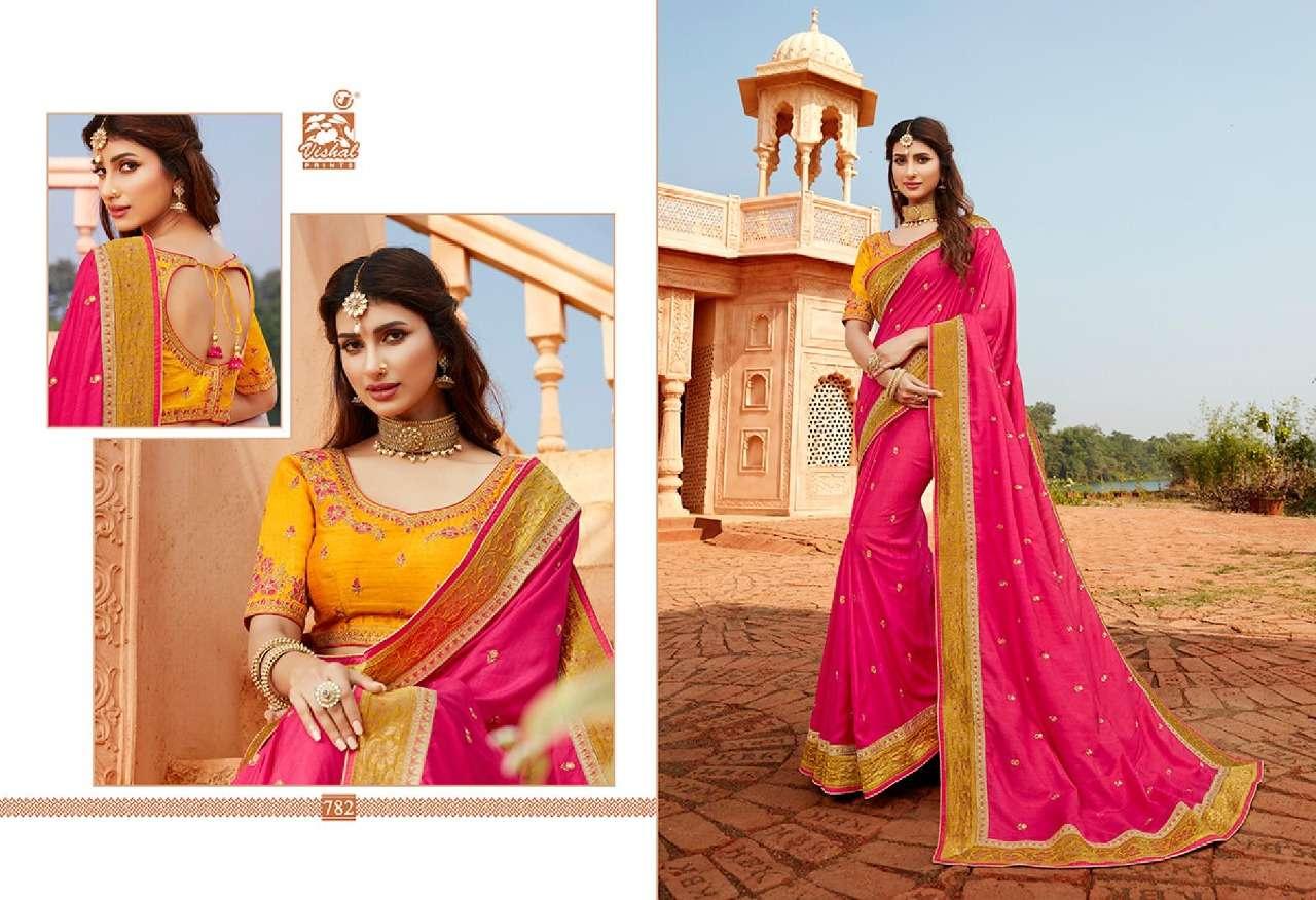 VISHAL GRANDOISE VOL - 3 designer saree collection 09