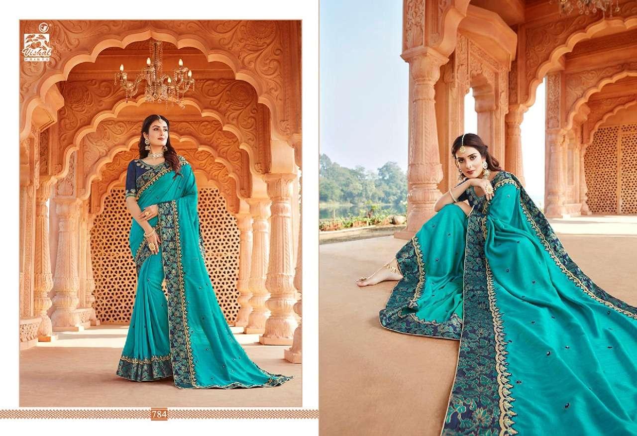 VISHAL GRANDOISE VOL - 3 designer saree collection 11