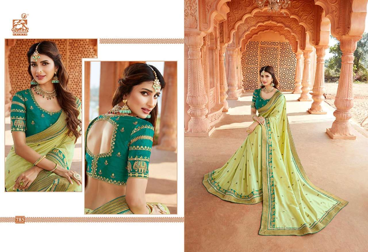 VISHAL GRANDOISE VOL - 3 designer saree collection 12