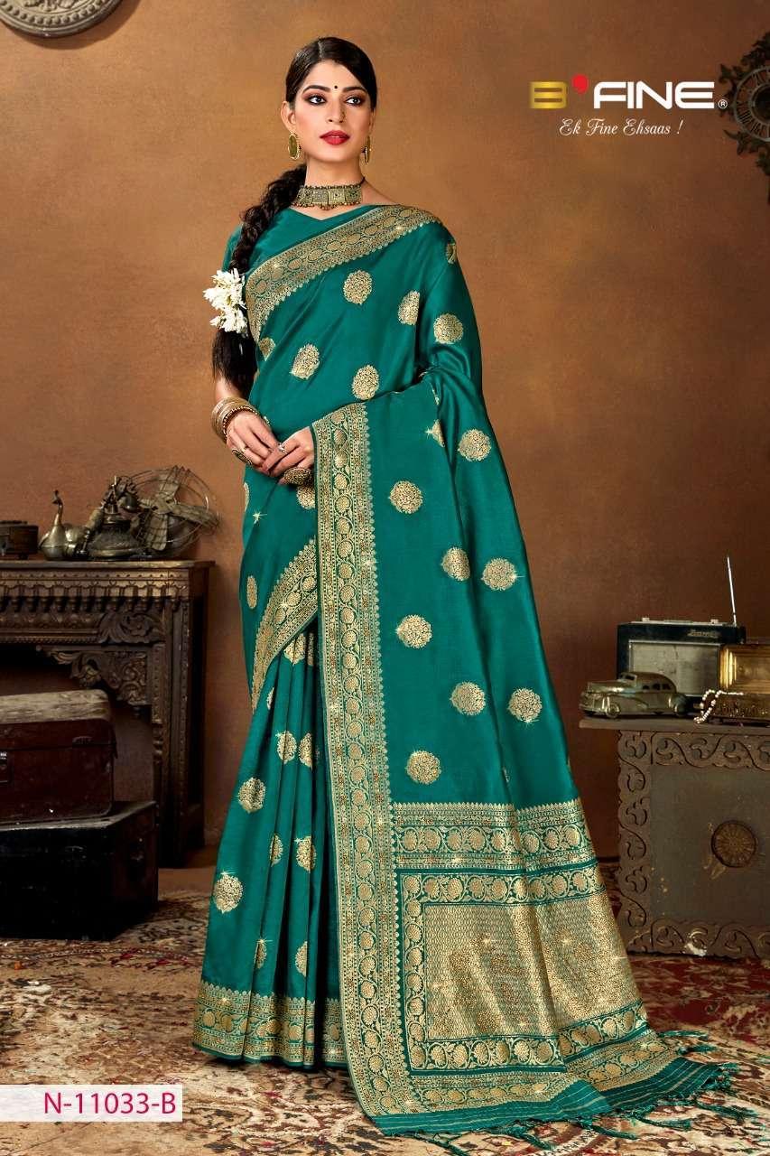B Fine Aakruti Soft Silk Designer Traditional Sarees Collection 01