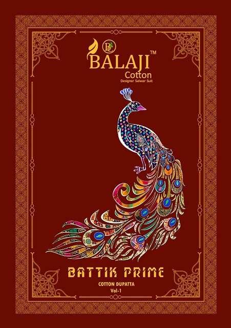 Balaji Cotton Batik Prime vol 1 Pure cotton Printed Regular Wear Dress Material collection