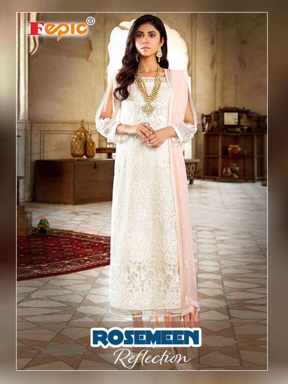 Fepic Reflection 84001 Georgette With Embroidery work Pakistani Suits collection