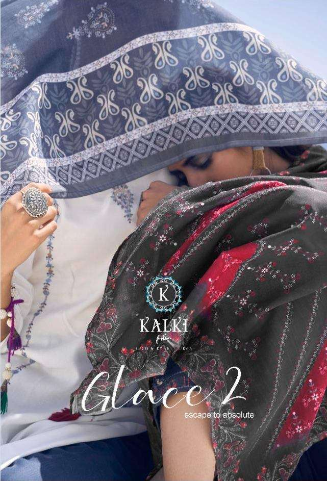 KALKI FASHION GLACE VOL 2 PURE RAYON WITH EMBROIDERY WORK KURTI WITH PANT DUPATTA COLLECTION