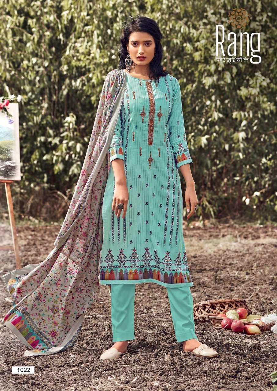 Kessi fabrics Rang Kalakari Jam Silk Print With Work Dress Material collection