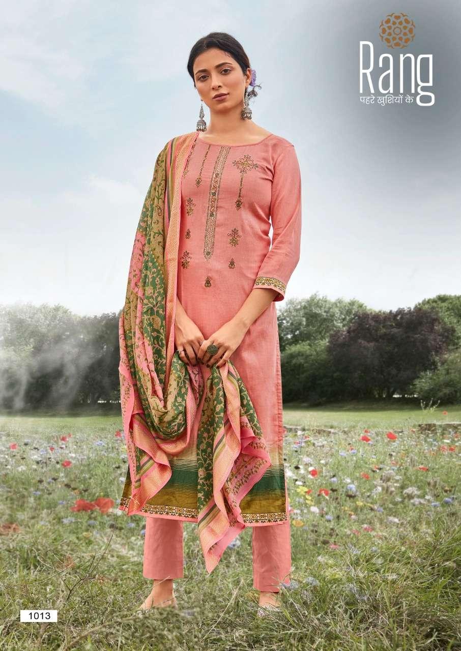 Kessi fabrics Rang Malhar Jam silk Print With Work Dress Material Collection