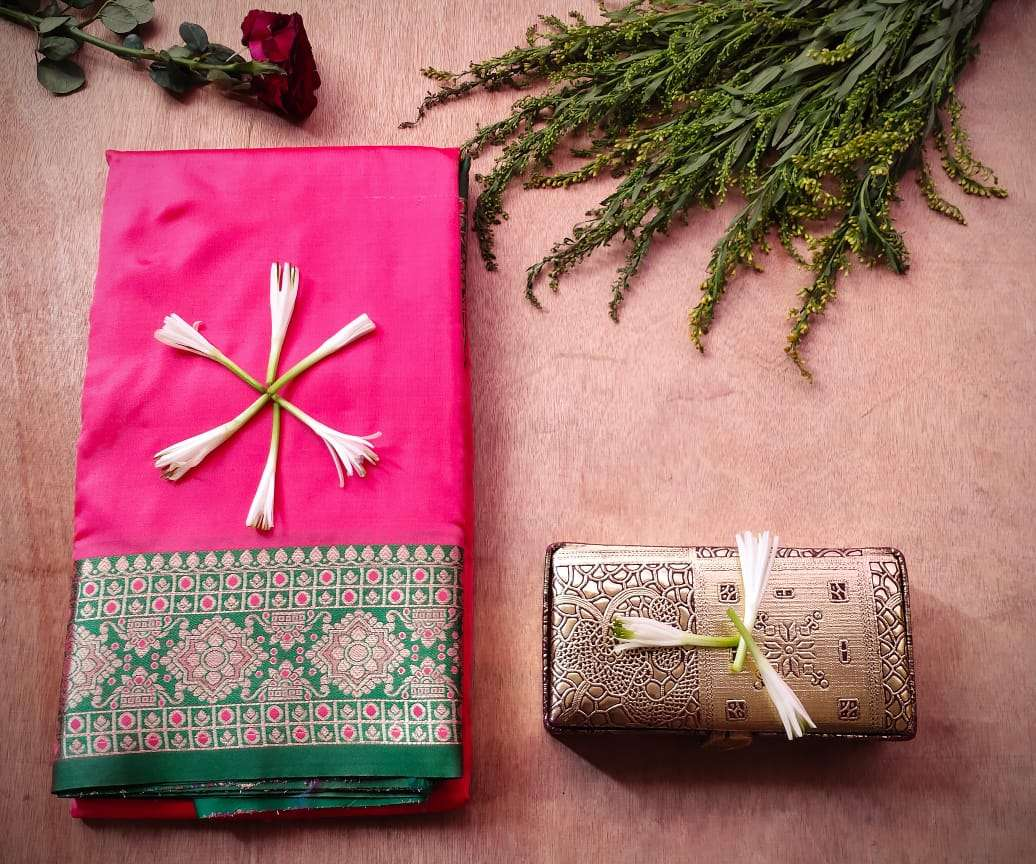 Latest Heavy Designer Pure Banarasi Silk Festival Wear Sarees COLLECTION 023