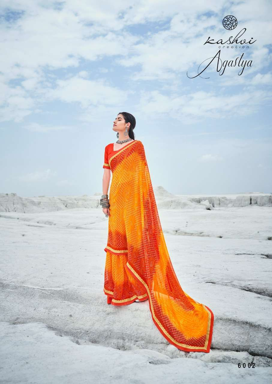 Lt Fabrics Kashvi Agastya Georgette With Fancy Border Regular Wear Sarees Collection0 2