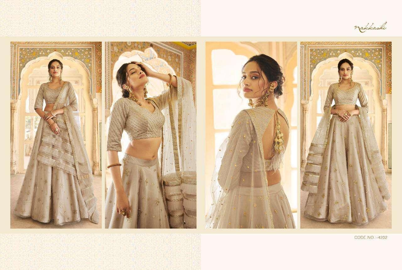 Nakkashi Eira Designer Heavy Wedding Wear Lehenga Choli Collection  032