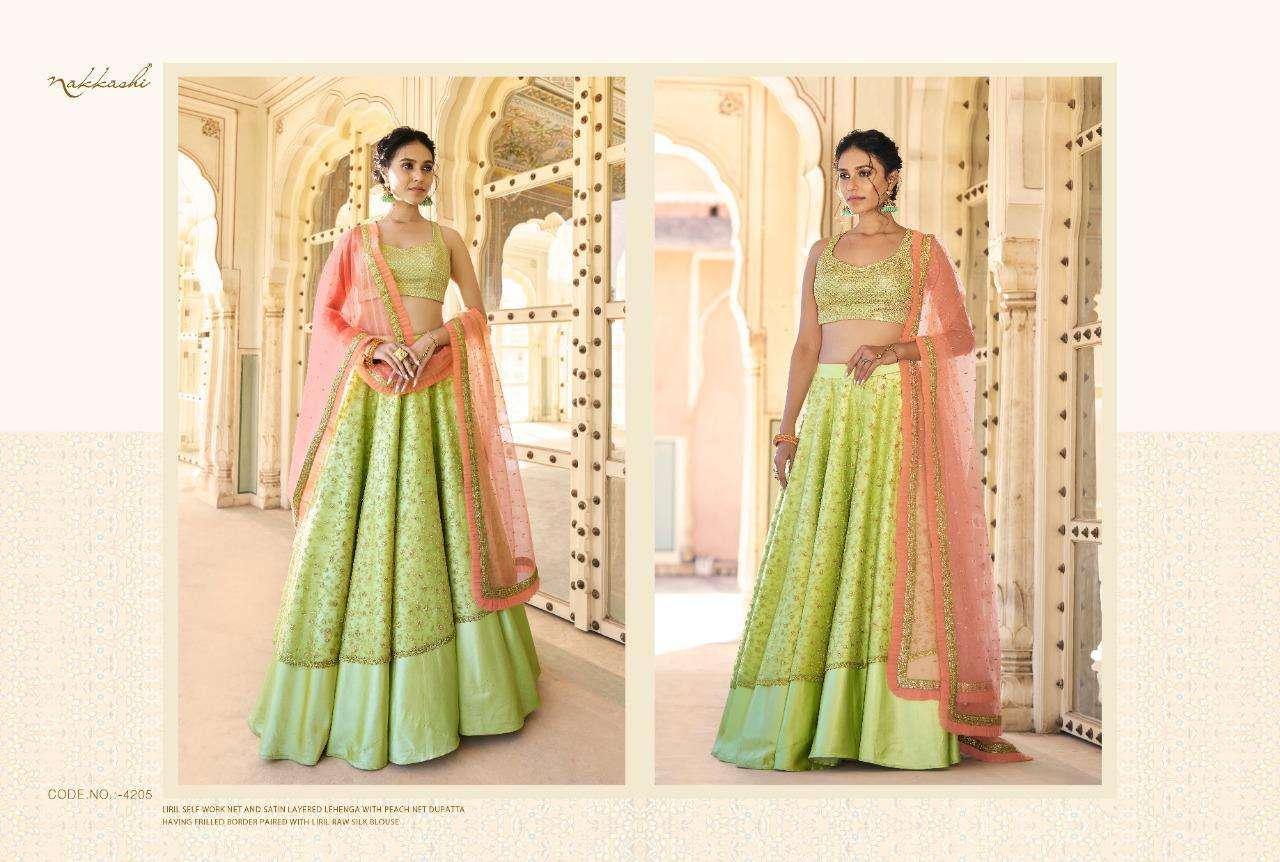 Nakkashi Eira Designer Heavy Wedding Wear Lehenga Choli Collection  05