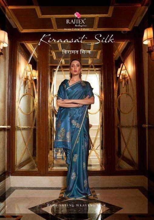 Rajtex Kiraasat Silk Satin weaving Silk Sarees collection