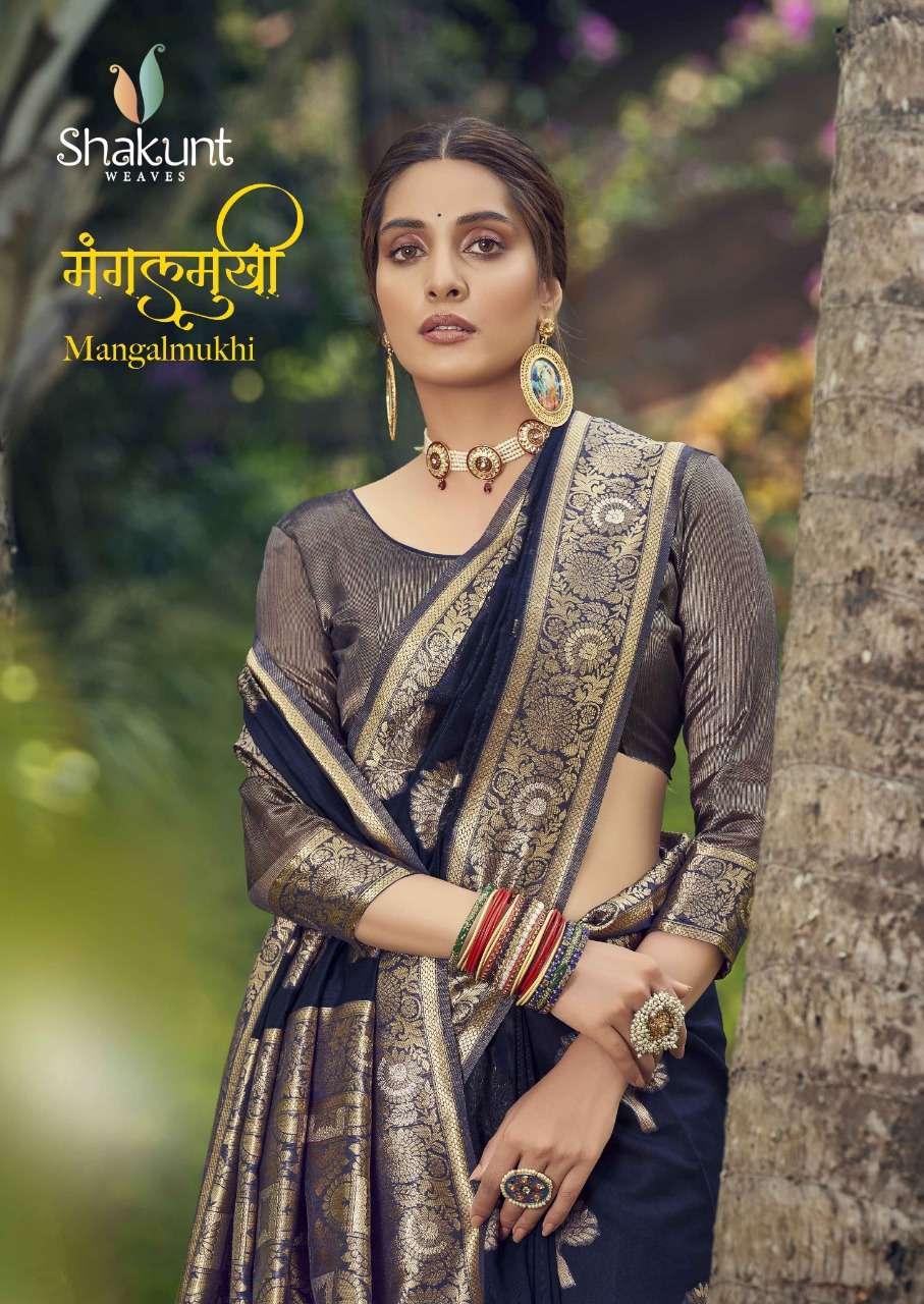 Shakunt Weaves Mangalmukhi Cotton Weaving Sarees collection