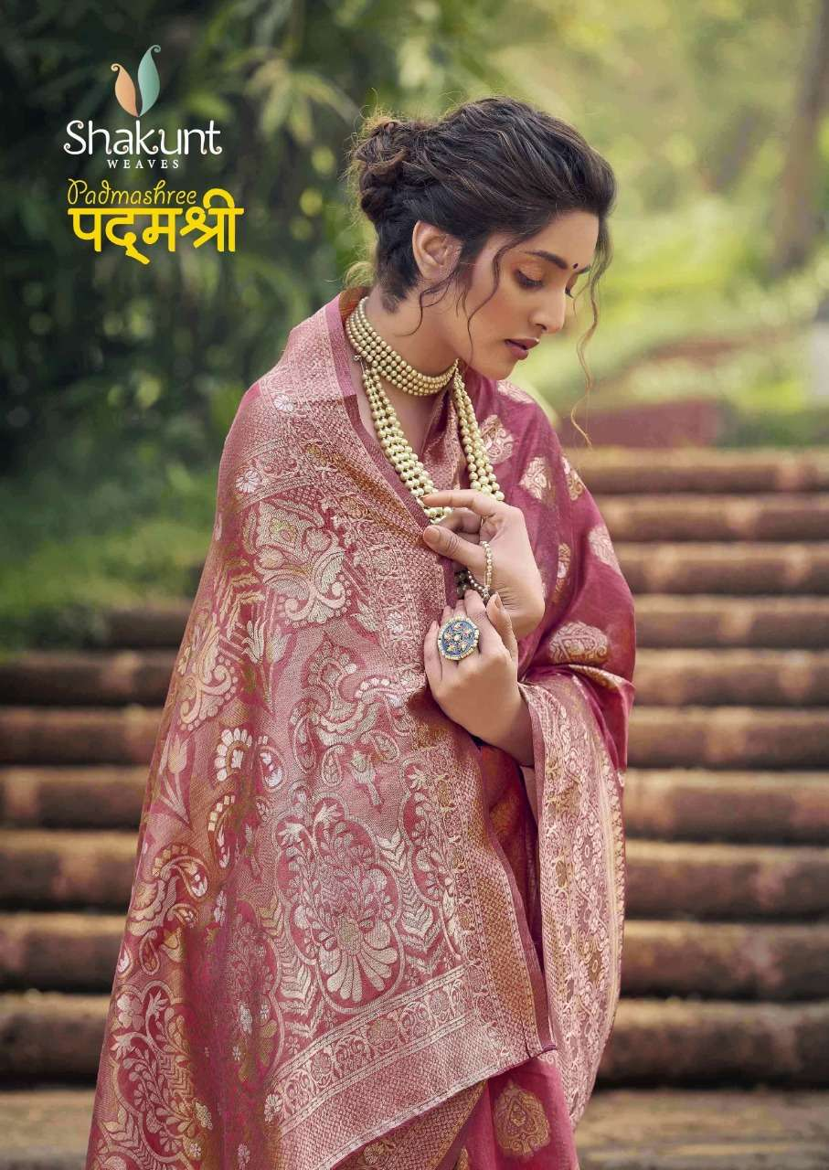 Shakunt weaves Padmashree Cotton Weaving Sarees collection