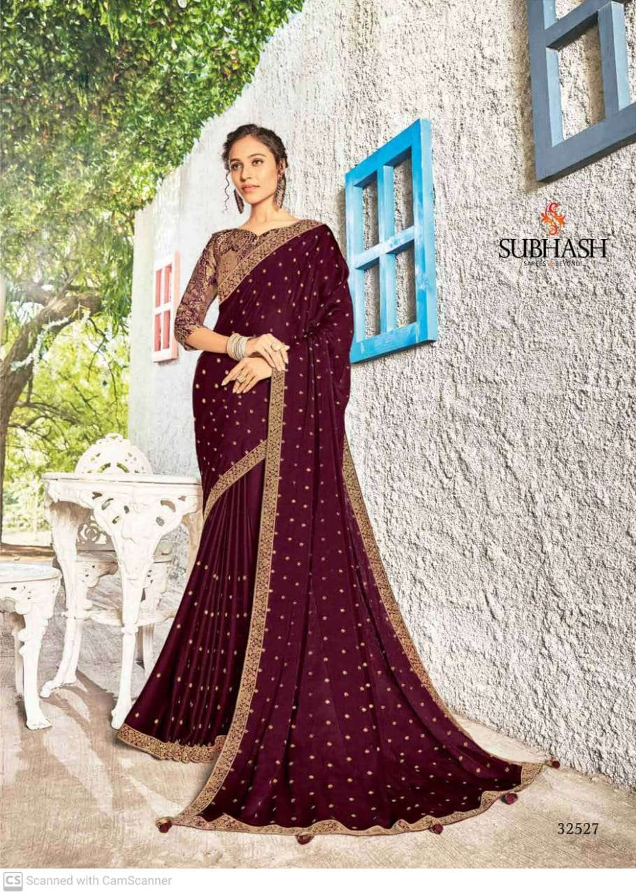 subhash sparsh vol 5 georgette with party wear saree collection  07