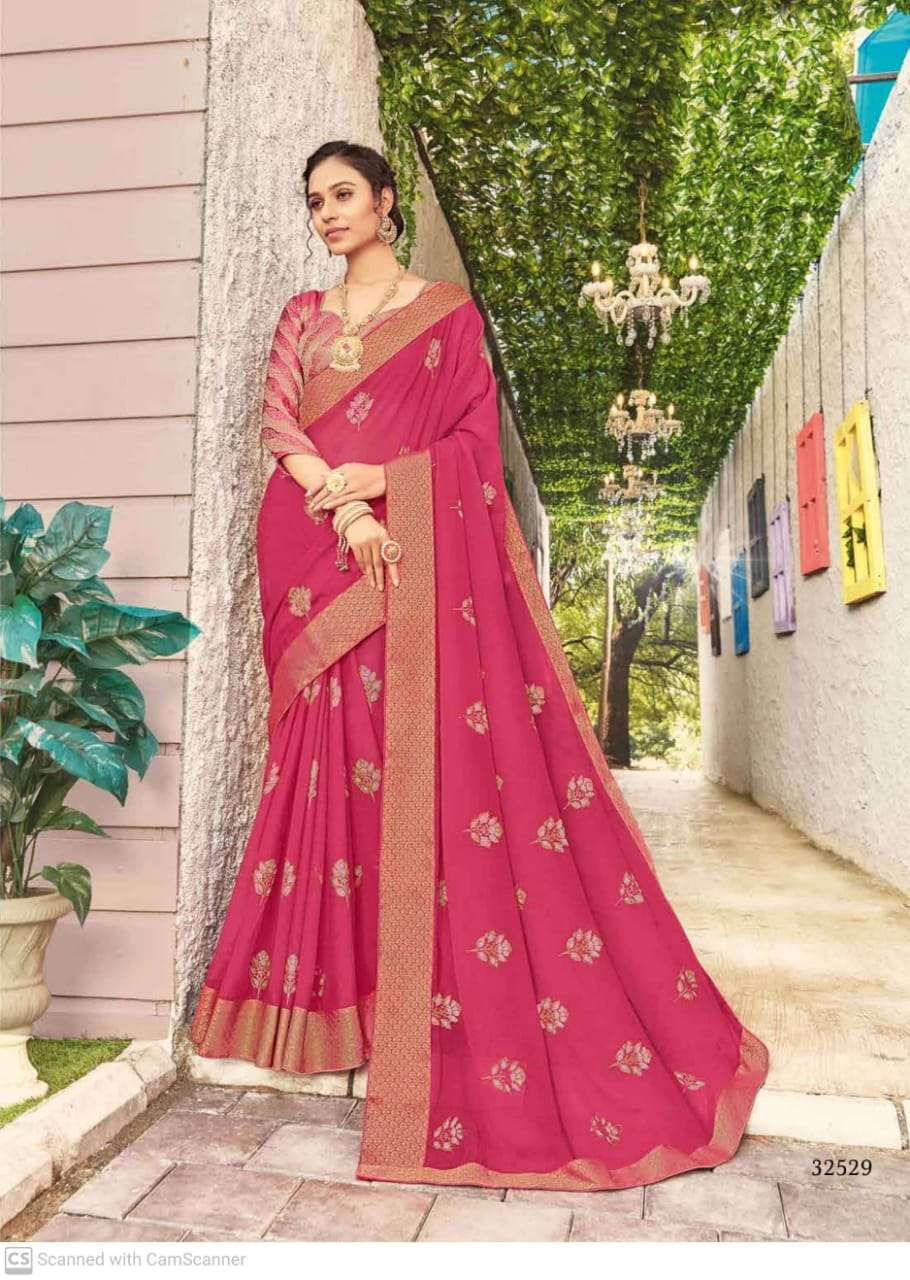 subhash sparsh vol 5 georgette with party wear saree collection  09
