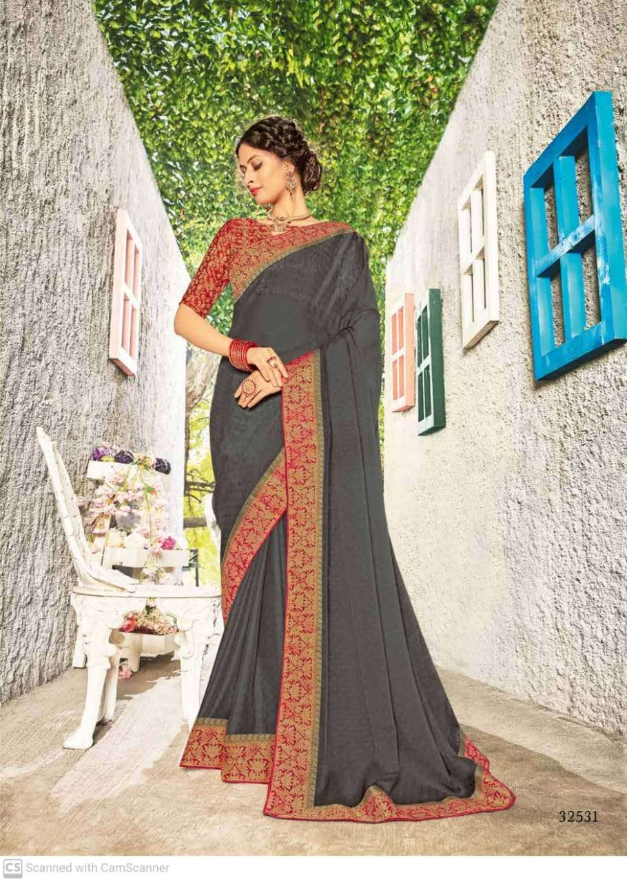 subhash sparsh vol 5 georgette with party wear saree collection  11