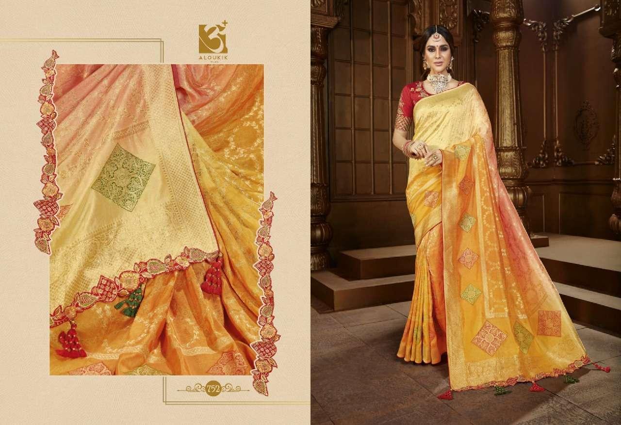 Vishal Prints Aloukik Ehsaas Designer Heavy Traditional Silk Sarees Collection 02