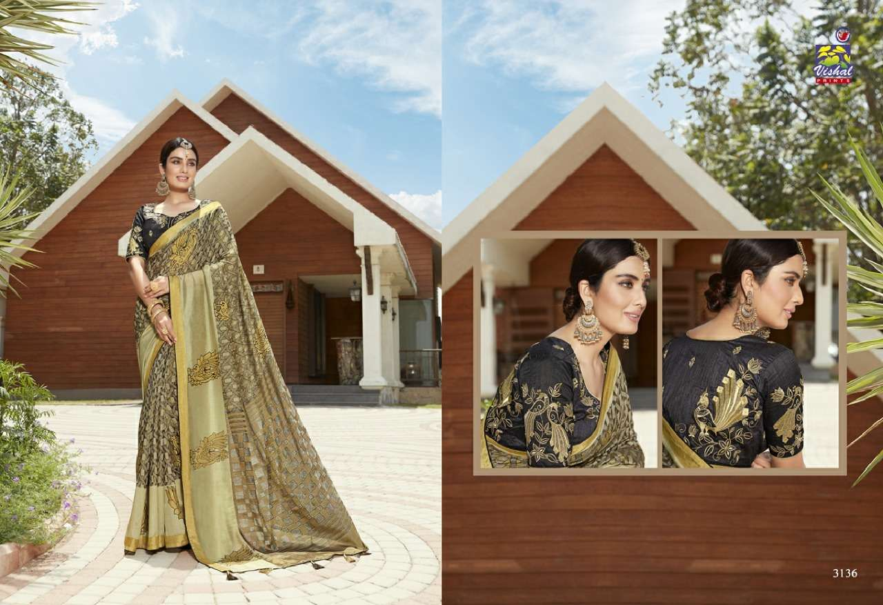 Vishal Prints Sangini Fancy With Designer Work Sarees Collection 01