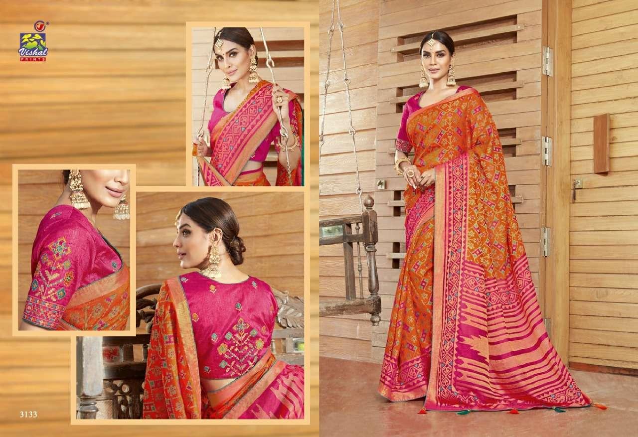 Vishal Prints Sangini Fancy With Designer Work Sarees Collection 011