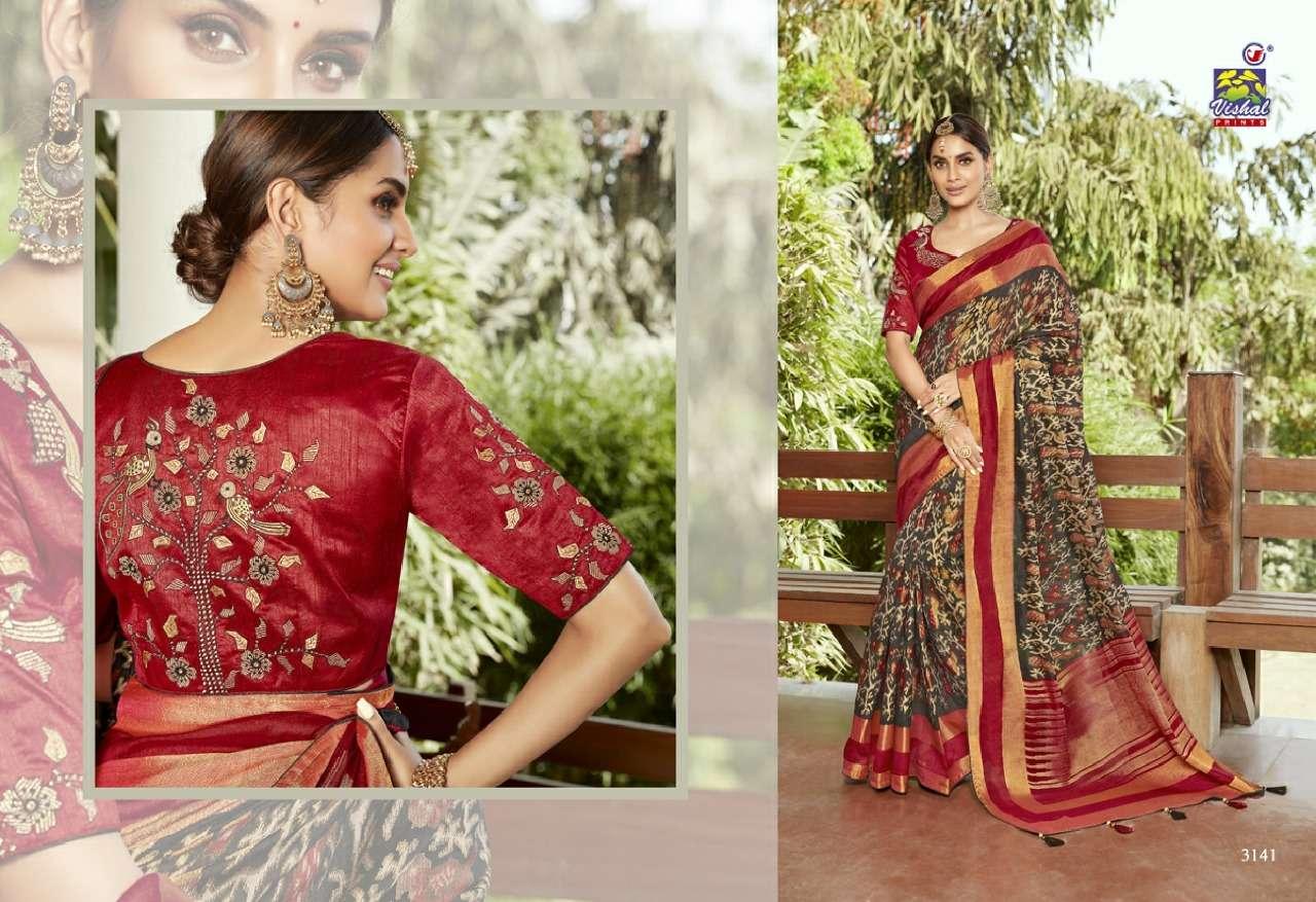 Vishal Prints Sangini Fancy With Designer Work Sarees Collection 03