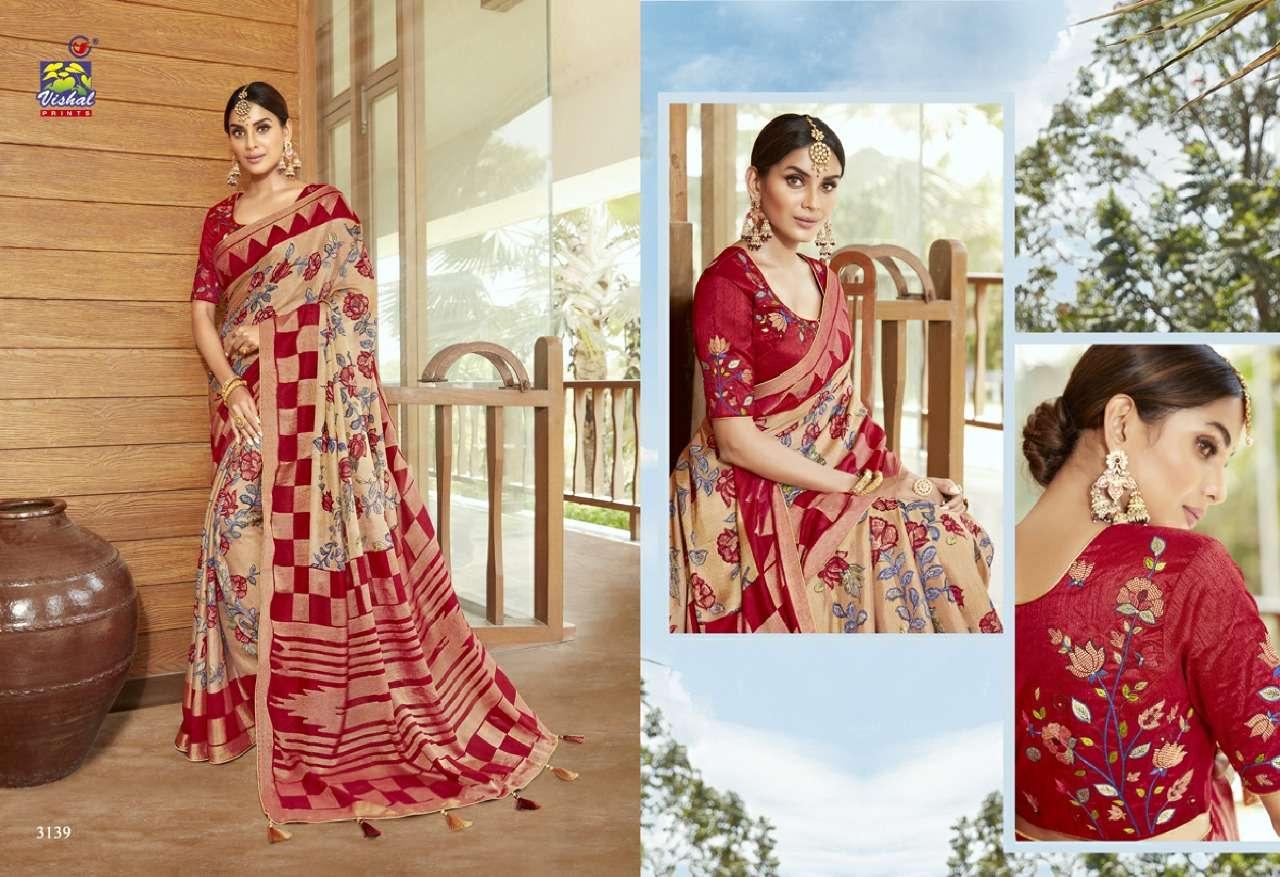 Vishal Prints Sangini Fancy With Designer Work Sarees Collection 05