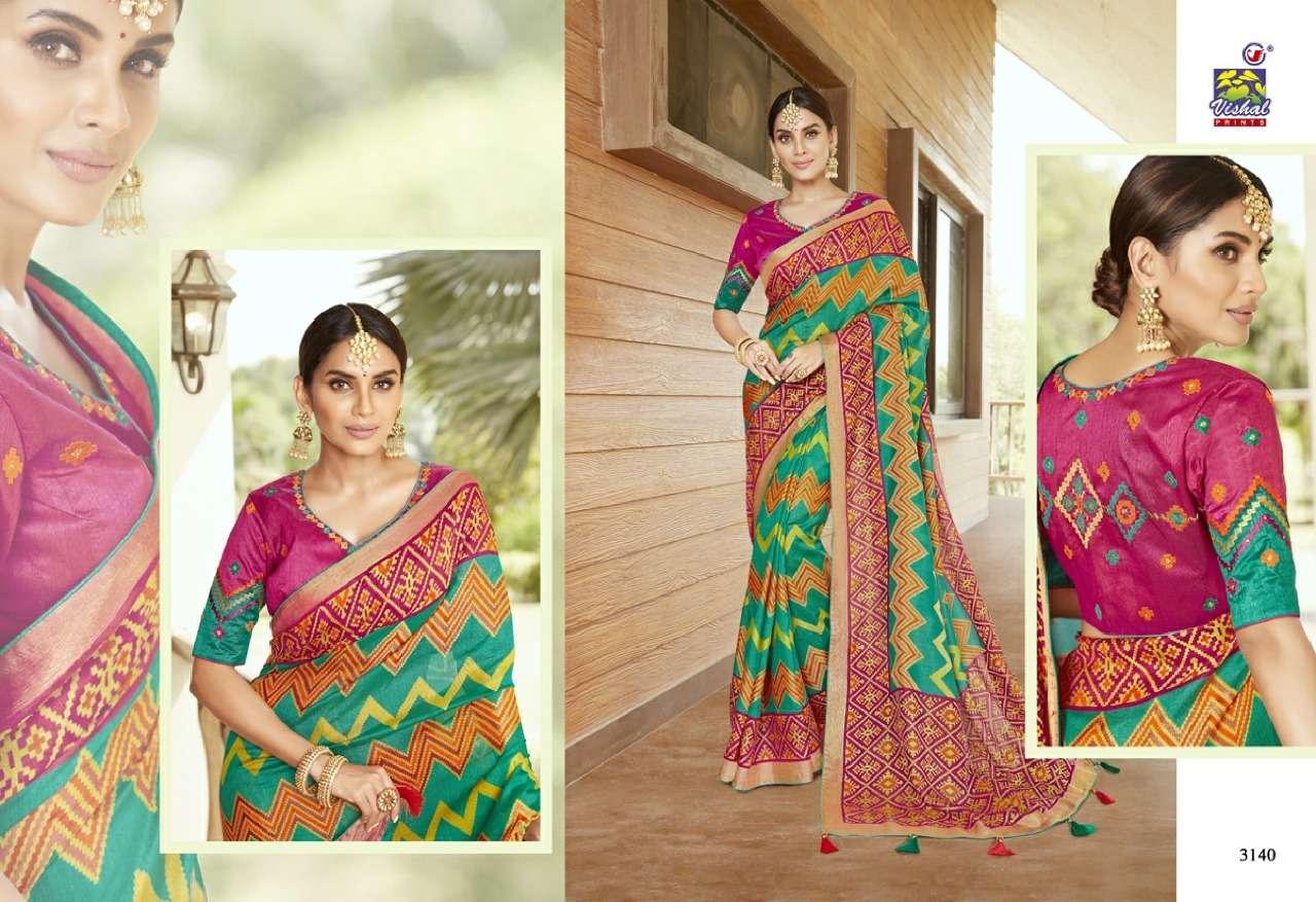 Vishal Prints Sangini Fancy With Designer Work Sarees Collection 06