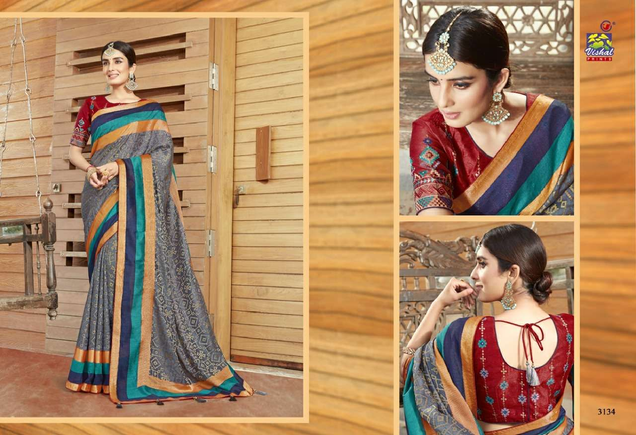 Vishal Prints Sangini Fancy With Designer Work Sarees Collection 2