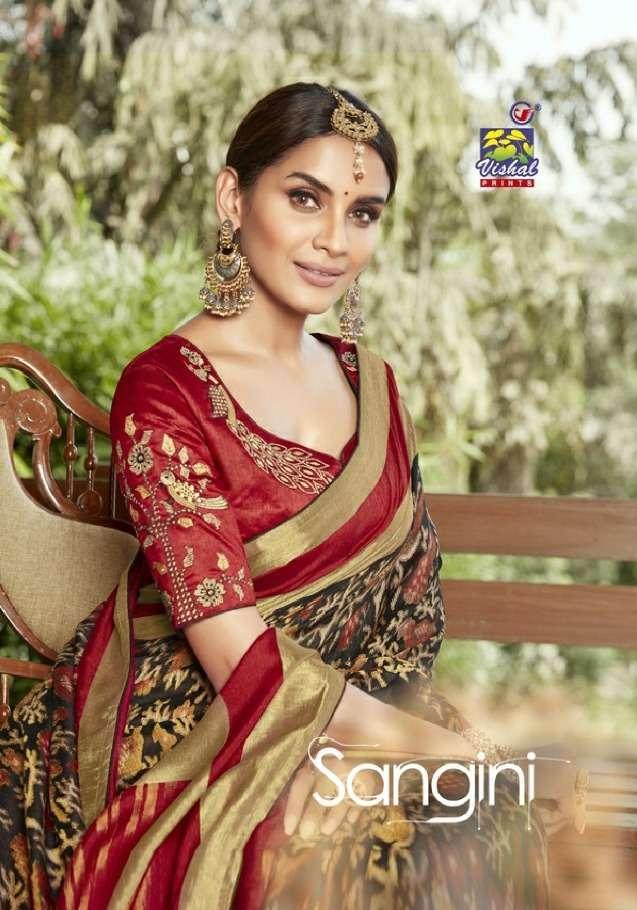 Vishal Prints Sangini Fancy With Designer Work Sarees Collection