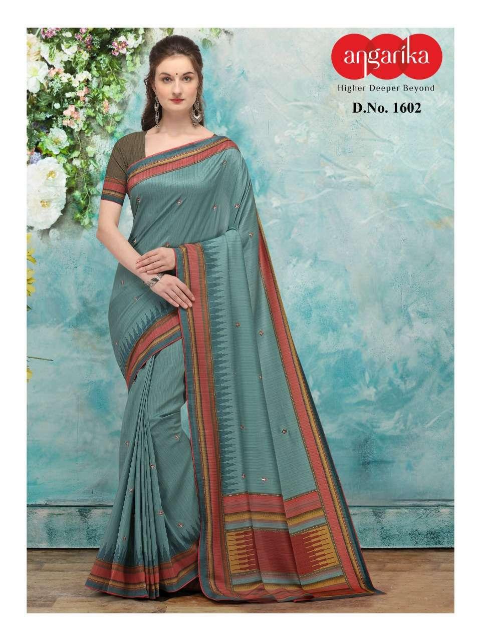 Angarika Bliss Tusser Silk Sarees Collection 04