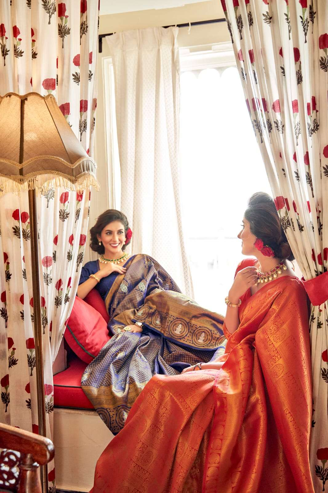 ANJANI SOFT HANDLOOM SILK PARTY WEAR SAREE COLLECTION at wholesale rate