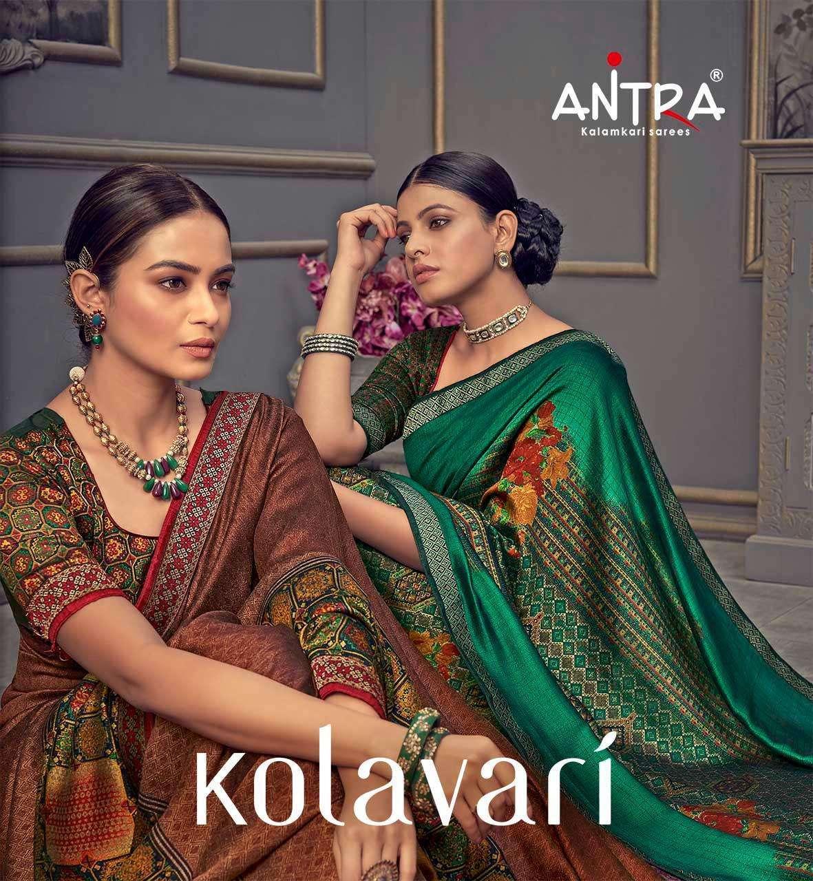 Antra Kolavari Vichitara Silk Printed Sarees collection