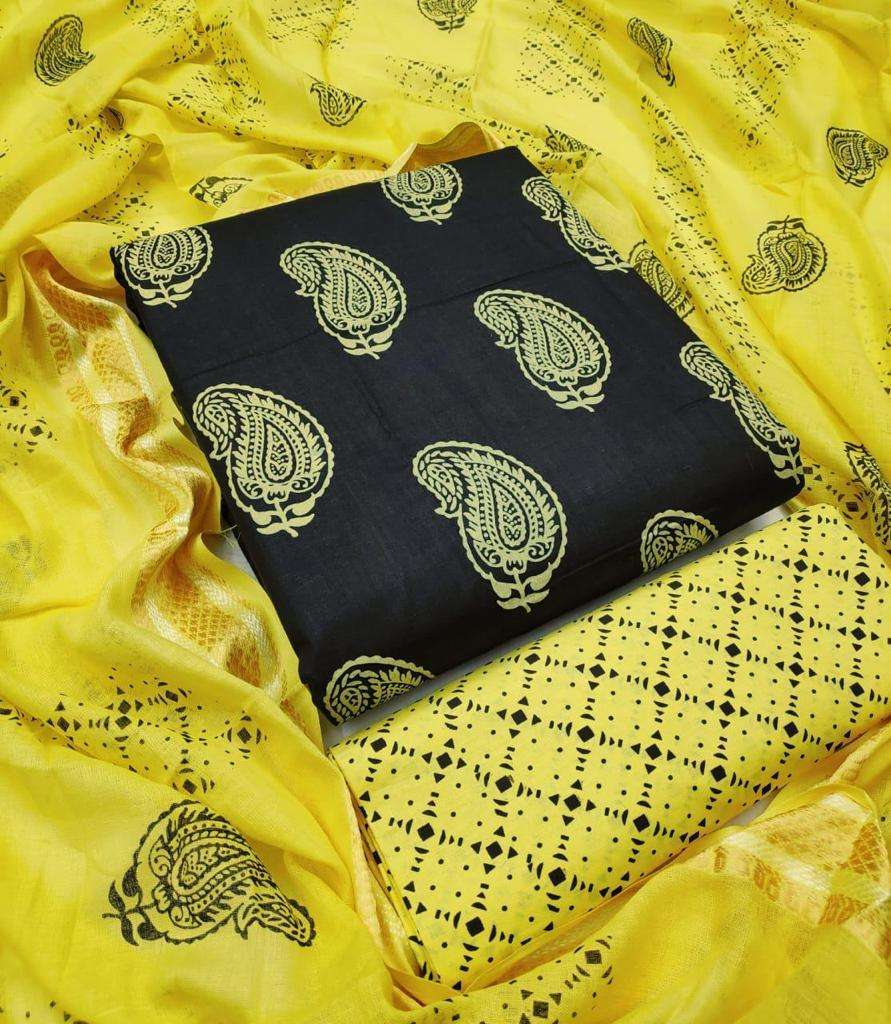 Cotton Printed Regular Wear Dress Material Collection 05