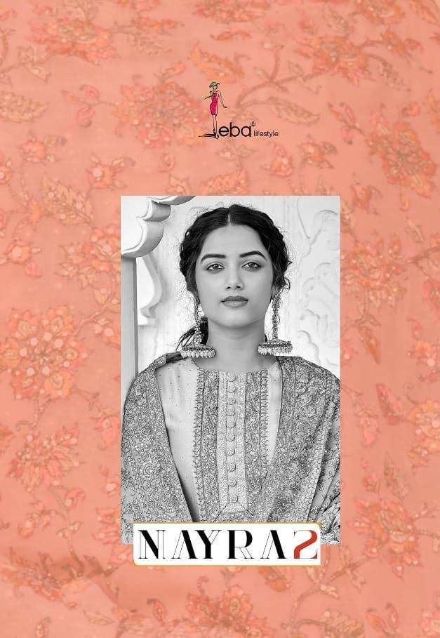 Eba Lifestyle Nyra Vol 2 Pure Viscose Silk with heavy Embroidery Work Salwar Kameez collection
