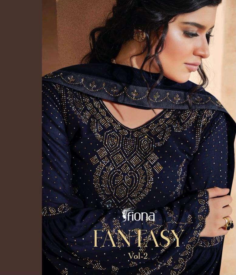 Fiona Fantasy Vol 2 Georgette With Swarovski Diamond Work Salwar Kameez collection