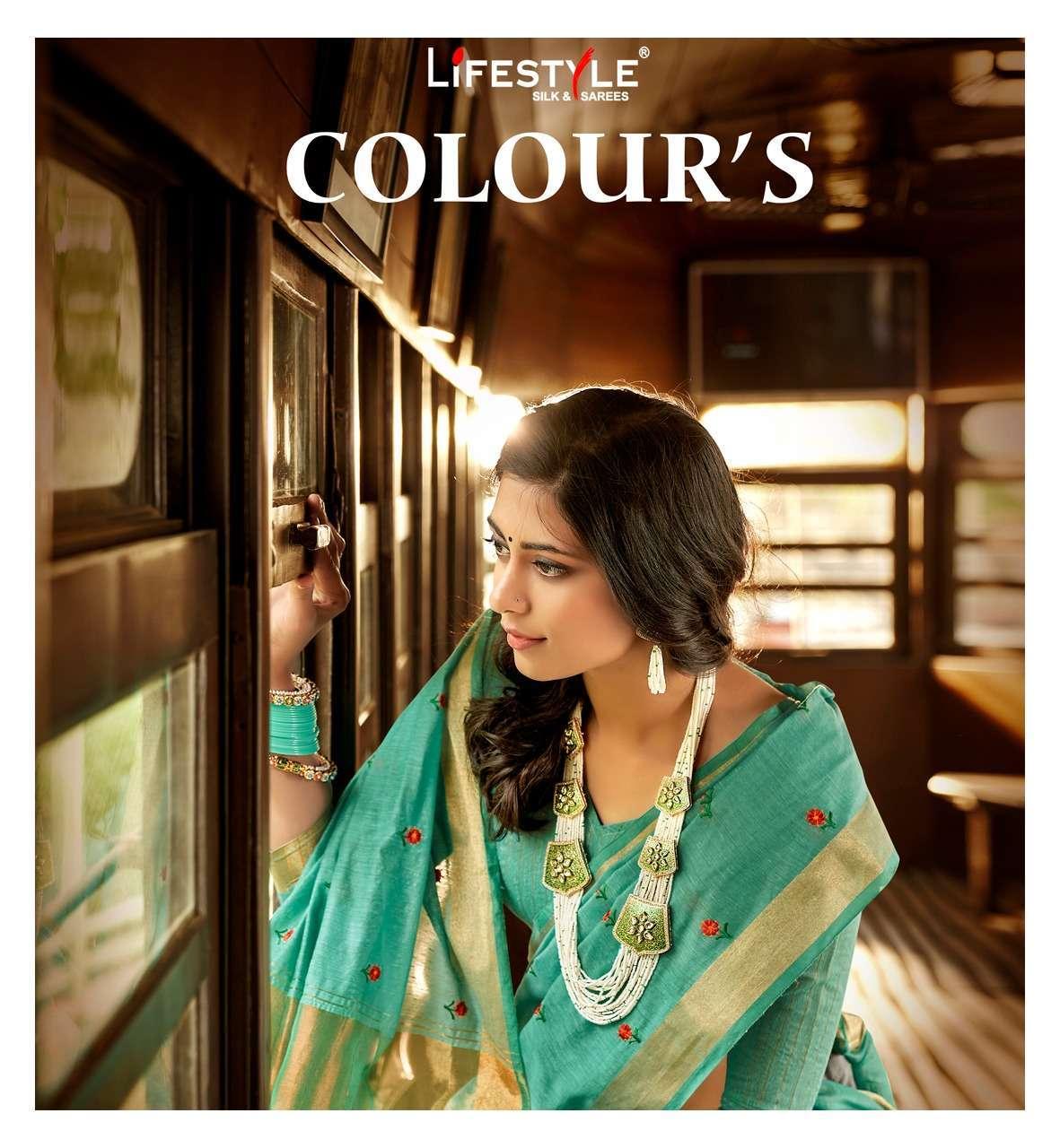 Lifestyle Colours Linen Cotton Traditional Sarees collection