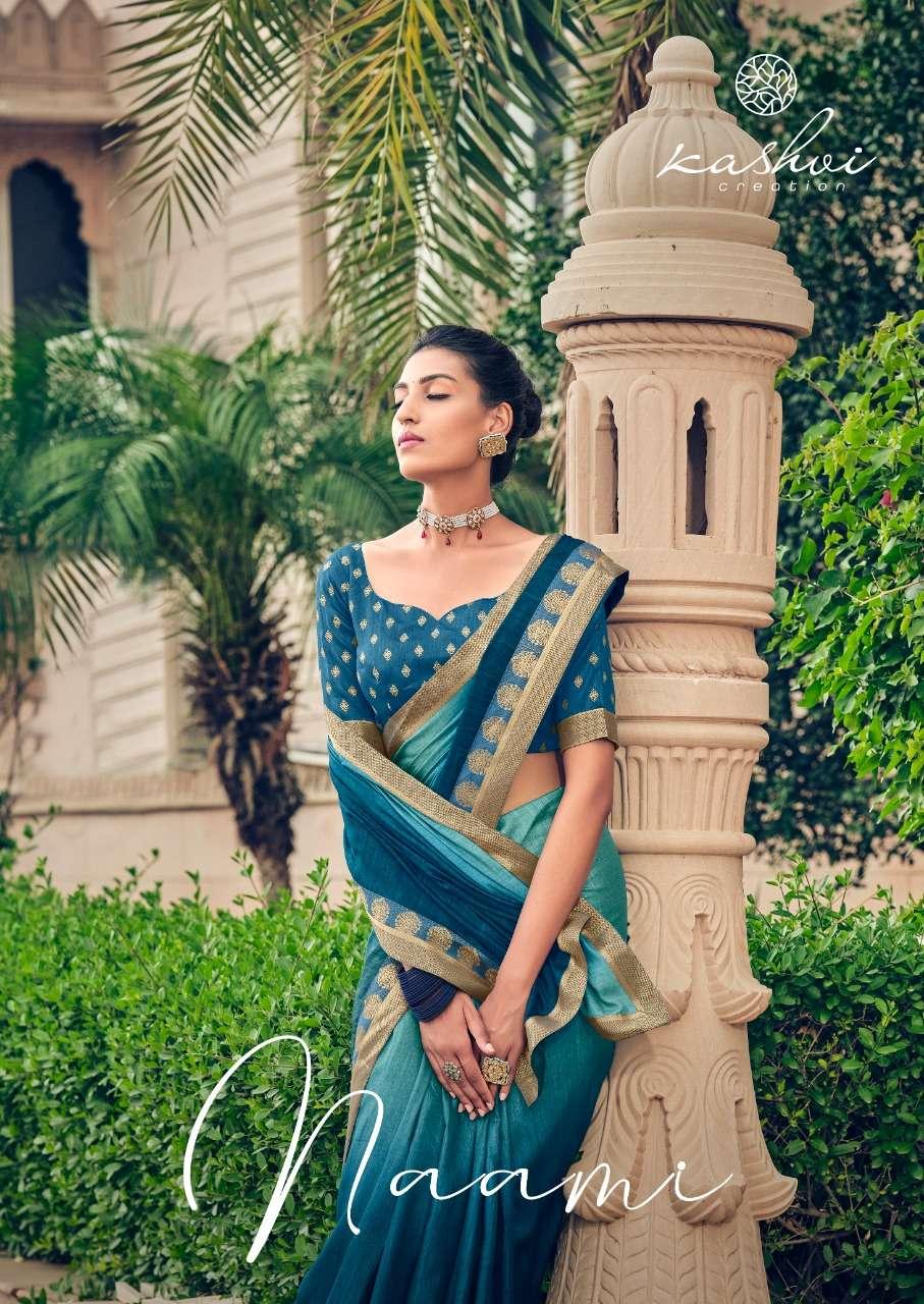 LT fabrics Kashvi Naami Dola silk With Swarovski Diamond Work Sarees Collection