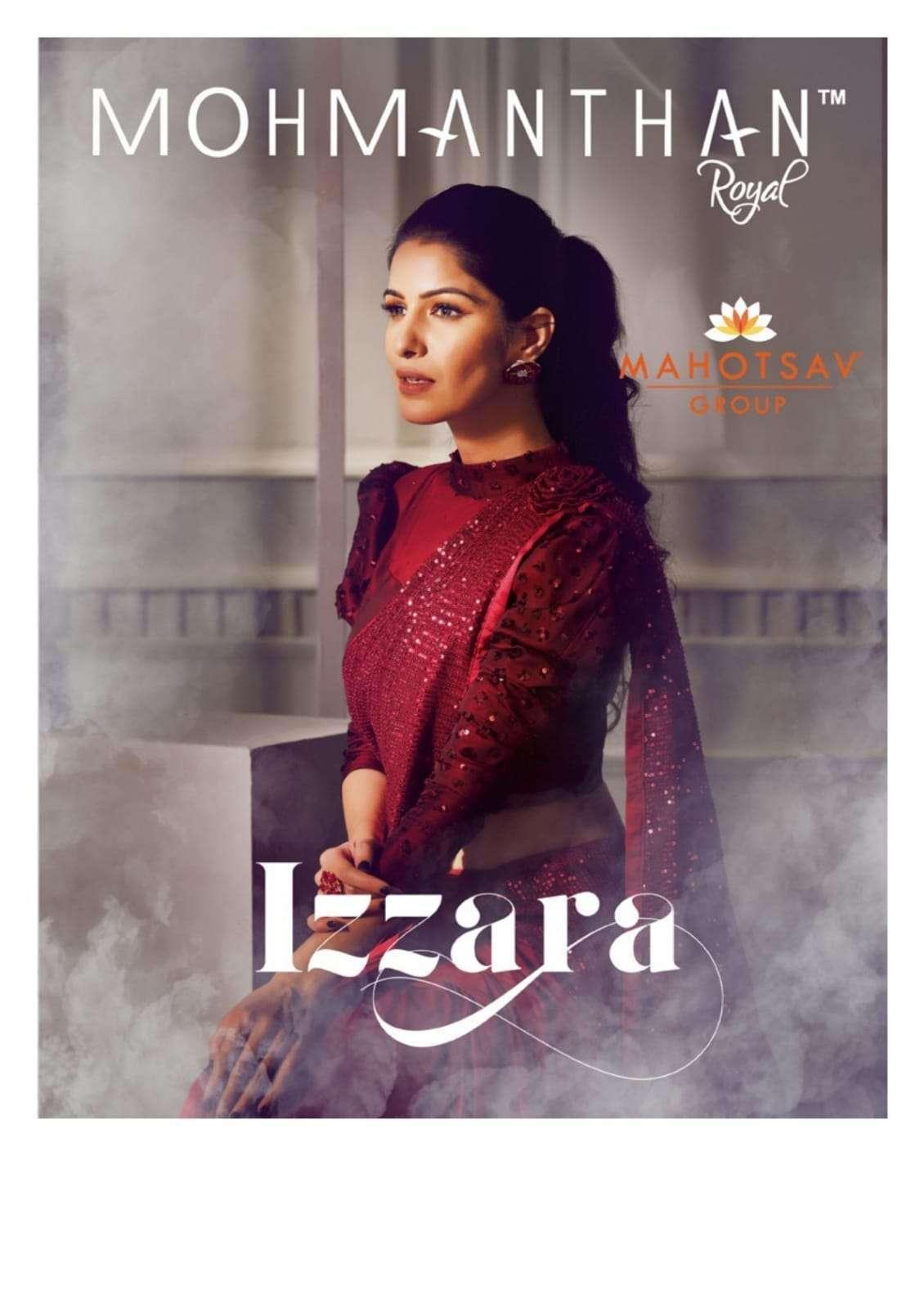 Mahotsav Moh Manthan Izzara 21501 to 215018 Series Fancy Designer Sarees Collection