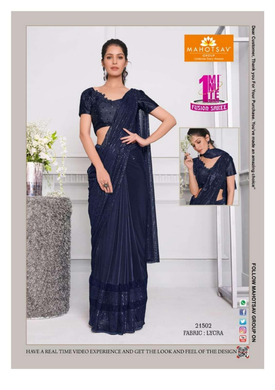 Mahotsav Moh Manthan Izzara 21501 To 215018 Series Fancy Designer Sarees Collection 21502