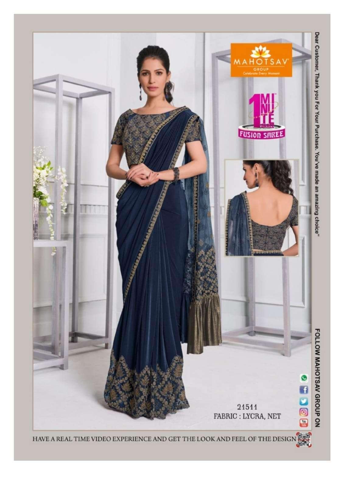 Mahotsav Moh Manthan Izzara 21501 To 215018 Series Fancy Designer Sarees Collection 21511