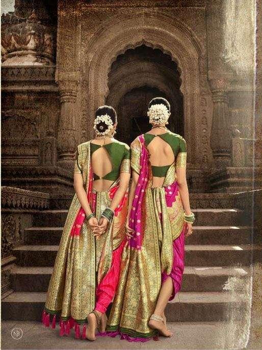 Manjula Vandana Silk Designer Sarees collection