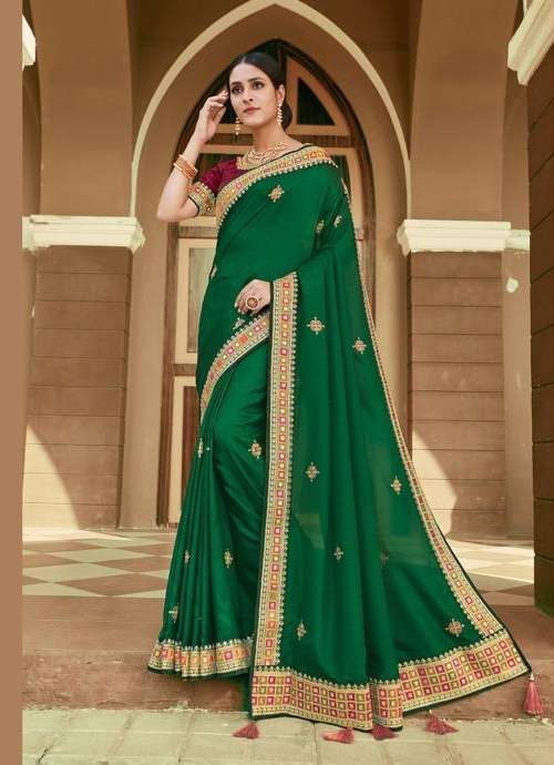 NAKASHI GEORGETTE WITH DESIGNER PARTY WEAR  SAREE COLLECTION