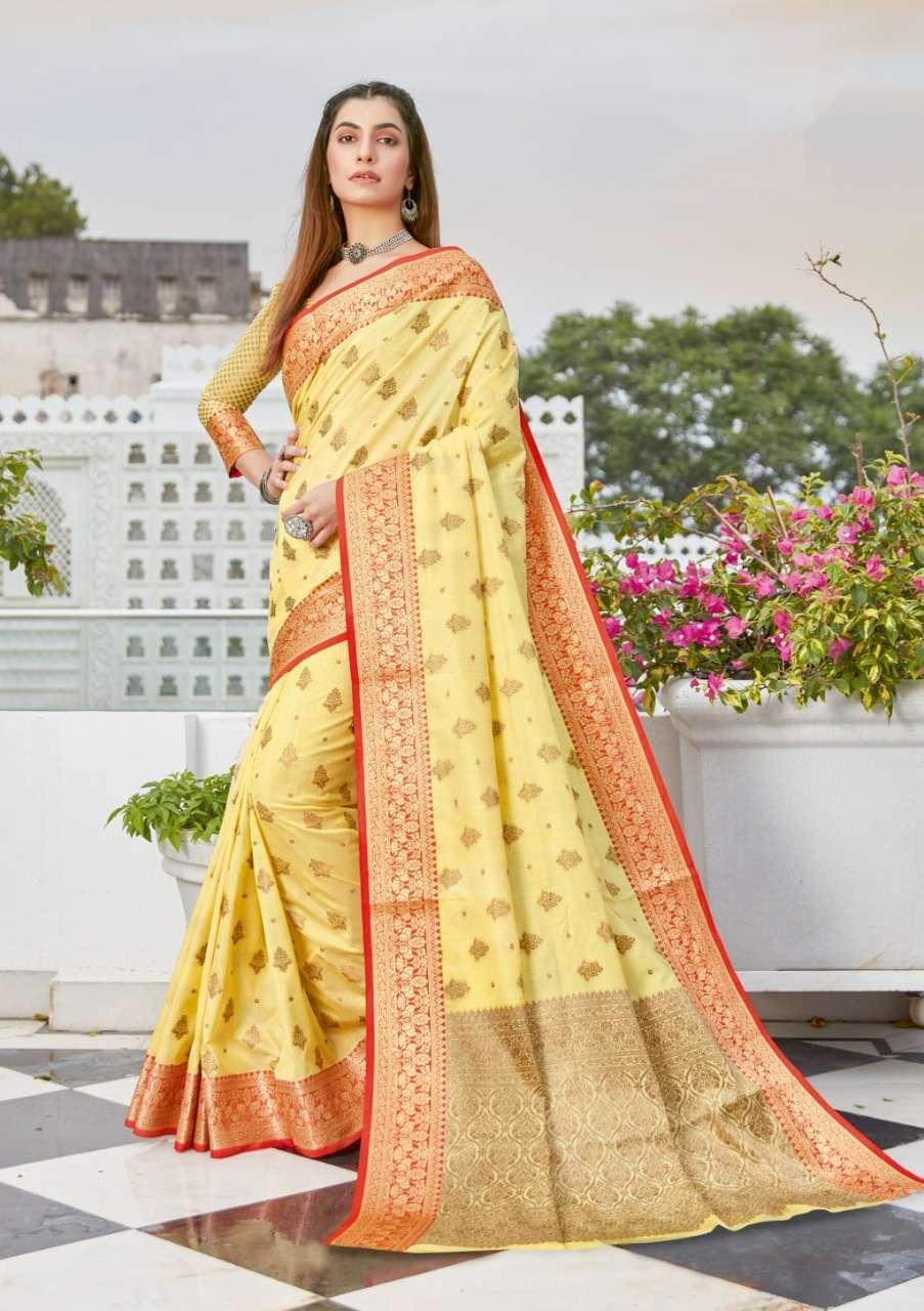 Sangam Prints Narayani Cotton Handloom Sarees Collection 01