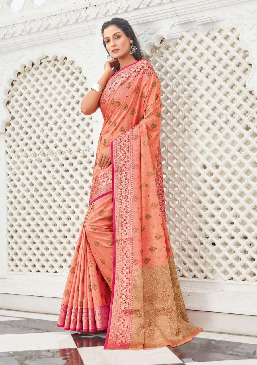 Sangam Prints Narayani Cotton Handloom Sarees Collection 02