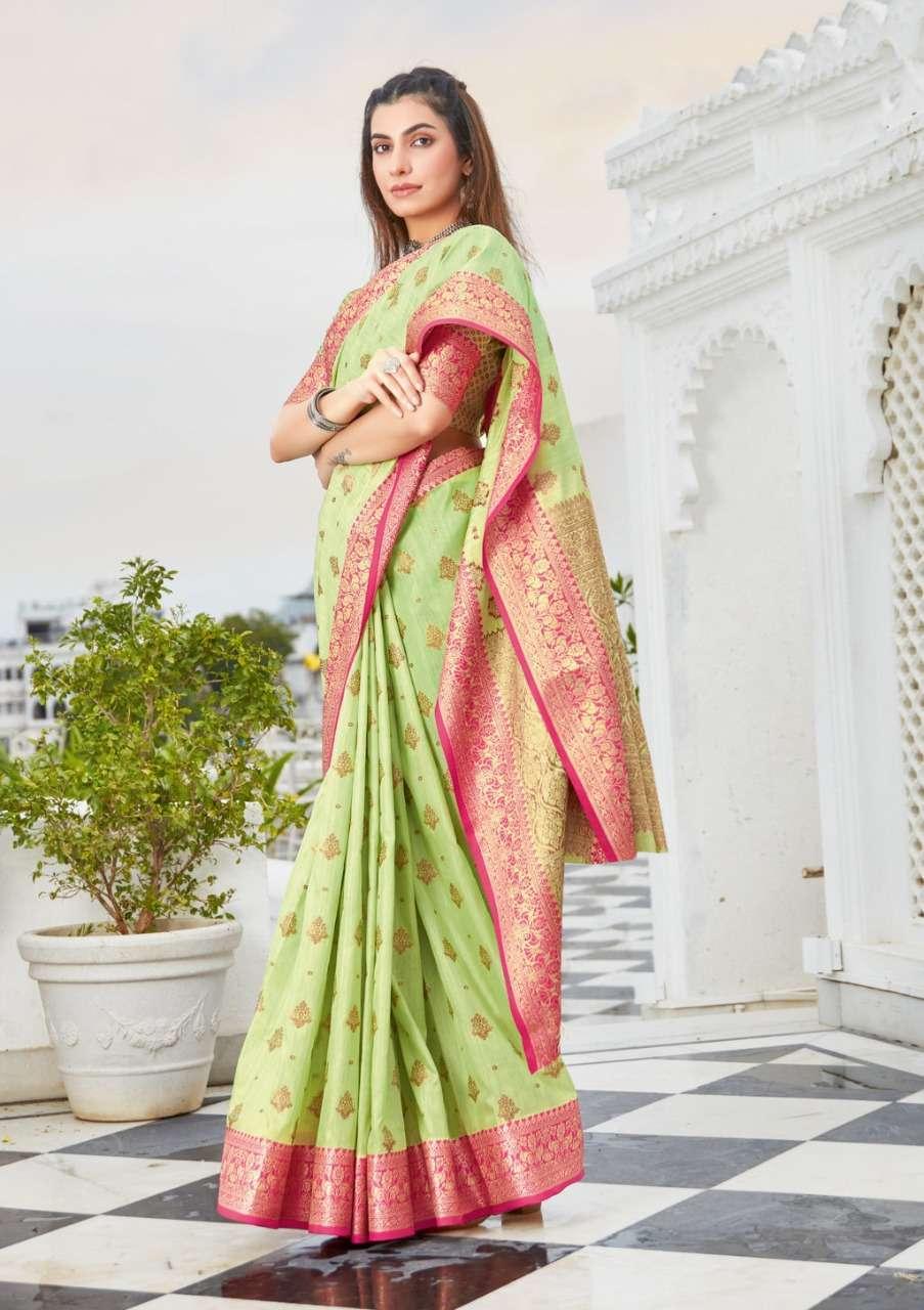 Sangam Prints Narayani Cotton Handloom Sarees Collection 05