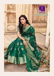 Shangrila Sarees Gangavati Silk Jari Weaving Sarees Collection