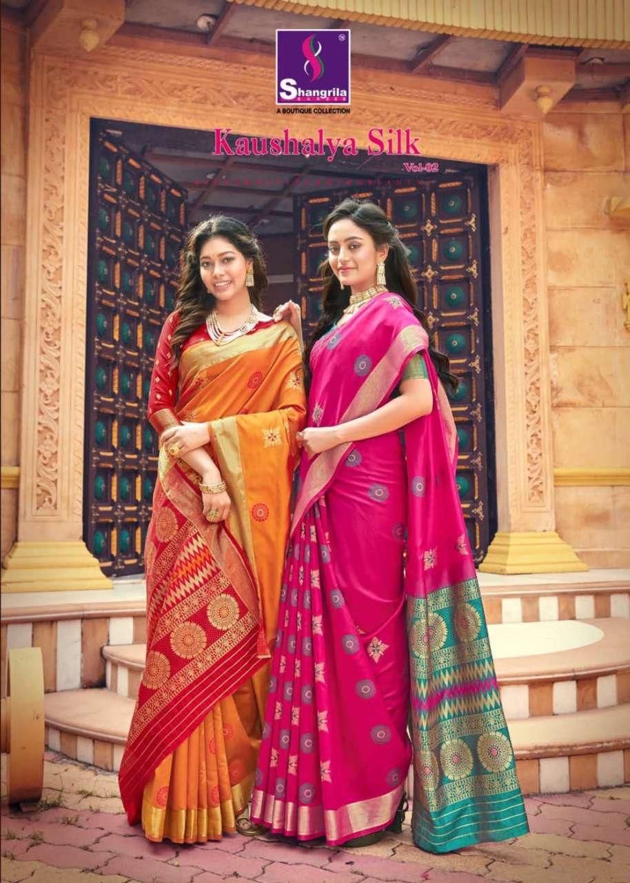 Shangrila Sarees Kaushalya Silk Vol 2 Silk Traditional sarees collection
