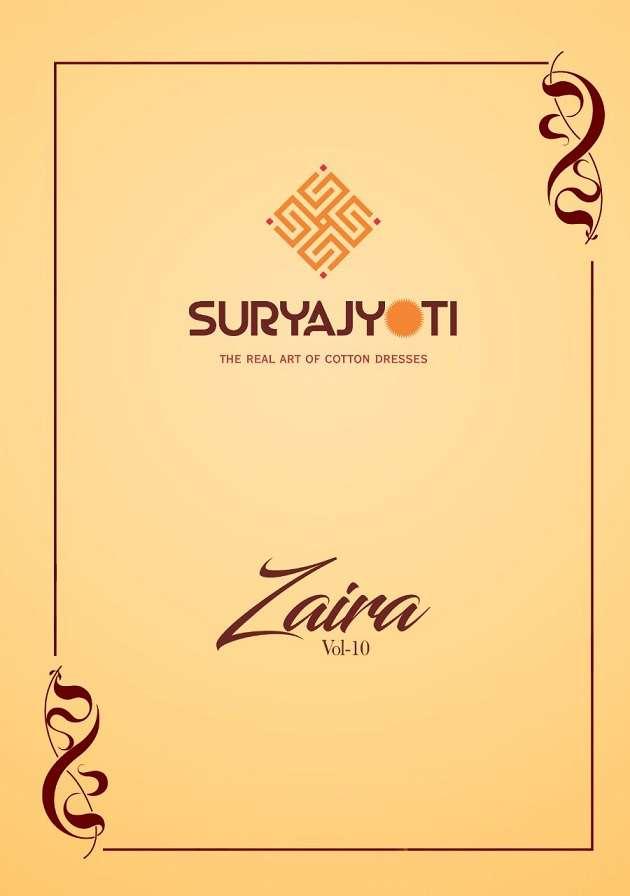 Suryajyoti Zaira Vol 10 Heavy jam Satin printed Dress Material collection